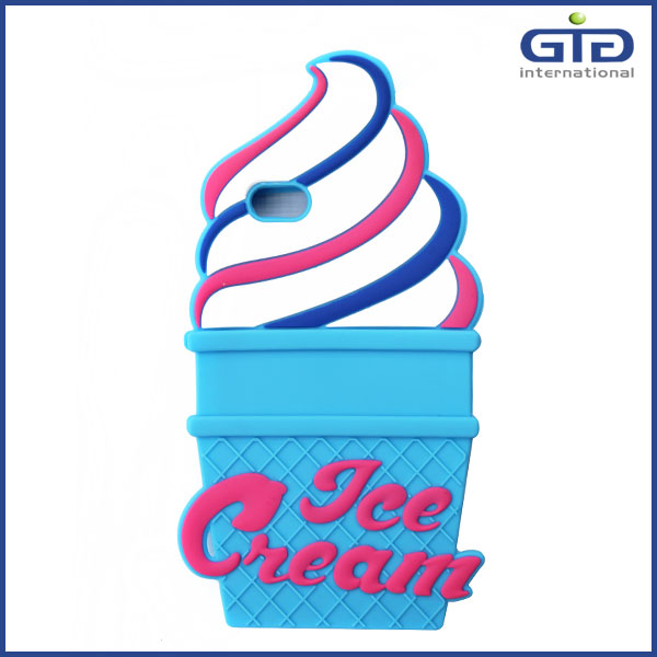 [GGIT] 2016 Summer Ice Cream Design Soft Silicon Beautiful Smartphone Mobile Phone Accessories Back Case Cover for iPhone 6