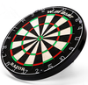 Professional Dartboard With Deluxe Wooden Cabinet