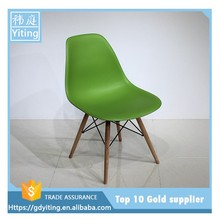 Home or restaurant used bar chair with wood legs YW-026