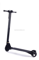 carbon fiber folding rechargeable battery powered scooter mini wheel electric scooter
