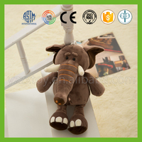 New fashion hot style children's plush brown elephant doll
