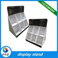 wholesale cheap display box,custom logo professional comestic display stand