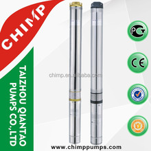 submersible pump list 75QJD 3SDM 3 inch plastic impeller submersible water pumping machine well pump for agricultural