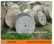 Grey Granite Old Used Millstones (Good Price + Time delivery)