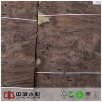 Masterpiece AA Grade furniture walnut burl wood veneer
