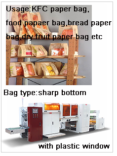 Hot Sale Full Auto Craft Paper Bag Making Machinery Supplier