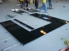 Absolute Black Granite Countertop, Absolute Black Granite Top, China Black Granite Countertop