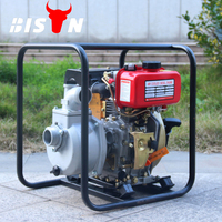 BISON Air Cooled High Pressure Mitsubishi Engine Diesel Water Pump