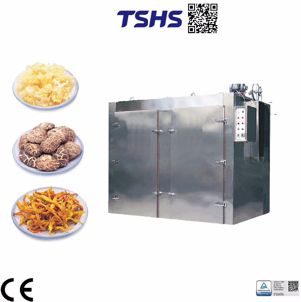 High quantity continuous dryer in vegetable