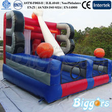 Interesting Basketball Games Inflatable Basketball Double Shot Game