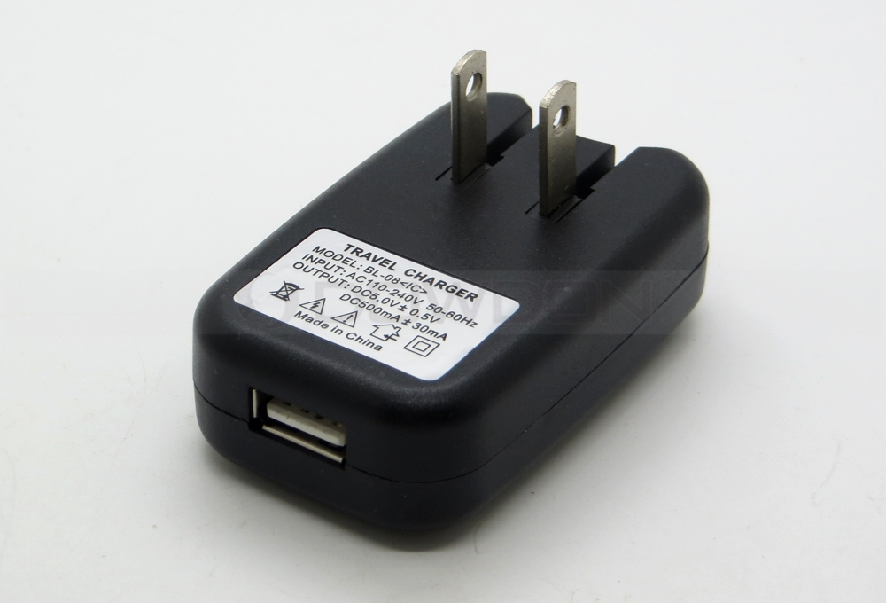 Universal 5V 500mA 0.5A USB Wall Charger Adapter Power Supply US Plug