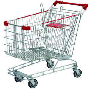 RH-SU125 Colourful Australian Market 125L Supermarket Metal Cart