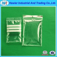China Supplier Plastic Clear Zipper Bag Food Safe High Quality