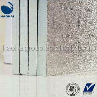 HVAC pre-insulated PU/PIR/Phenolic duct panel