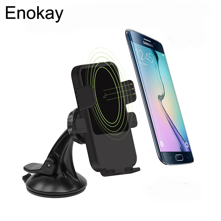 Car mobile phone bracket car Wireless charger For Samsung S6 Edge+ Note5