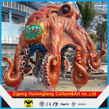 Popular Exhibition Animal Models Huge Inflatable Octopus Model