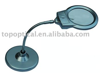 illuninated magnifier desk lamp