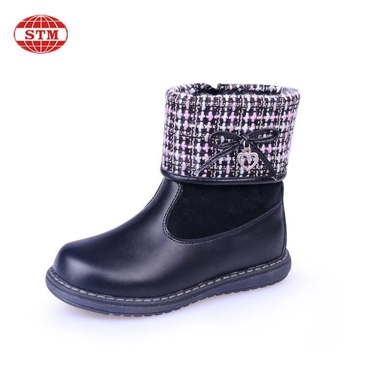 High Quality Fashion Latest Girls Children Cute Baby Winter Snow Kids <strong>Boots</strong>