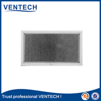 modern type double deflection grille for exhuast return and supply grille , air register