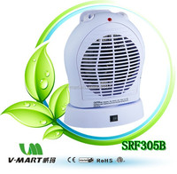 V-Mart new style fan heater SRF305B with CE GS ROHS approved