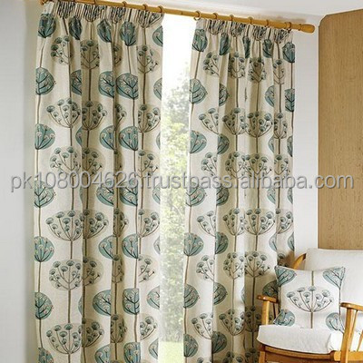 Curtain for Doors & windows, Plain curtain, printed Curtain, Back Lining Fabric