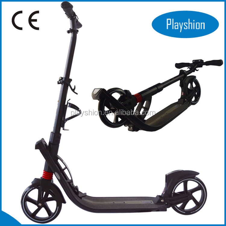 New easy folding 200mm Kick Scooter double suspension kick scooter