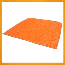 GBJY-264 300D Oxford Waterproof Oxford Fabric Compact Beach Blanket, Foldable Picnic Mat&Sunshade Perfect For Camping