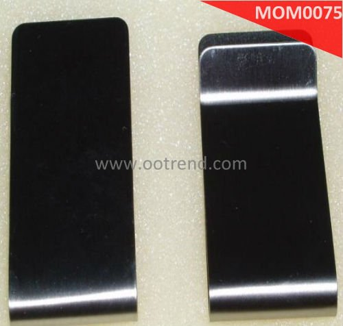 Stainless Steel cool Money Clips with IPG color, good quality, fashion style MOM0075