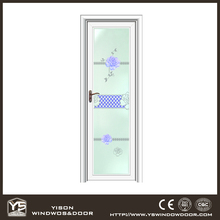 Factory-direct Competitive Price Aluminum Glass Toilet Door