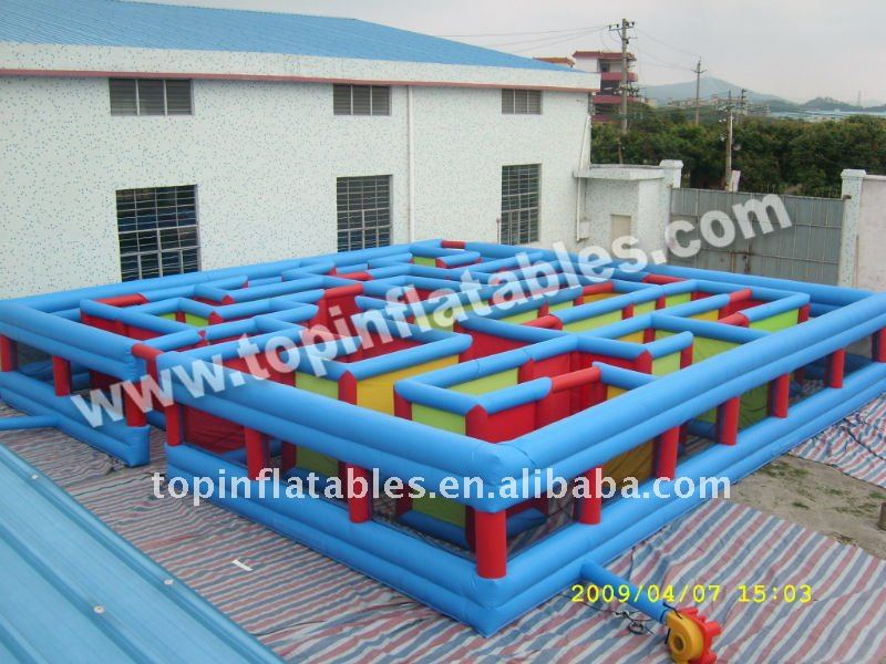 A1 interactive game / outdoor inflatable maze / inflatable toy