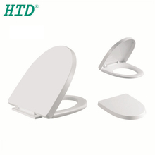 JF035 Bathroom New Design Fashion Low Price Plastic Soft Close Elongated Bidet Toilet Seat Accessory