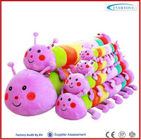 insect toy plush worm toy caterpillar stuffed toy