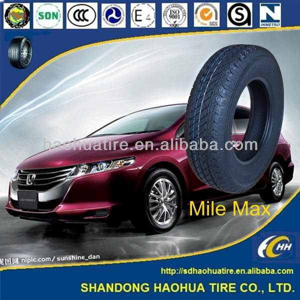 China famous brand new radial passenger car tyre with certificate dot ece iso pneus solideal