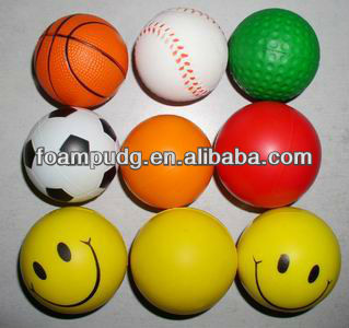 2013 high quality pu foam toys