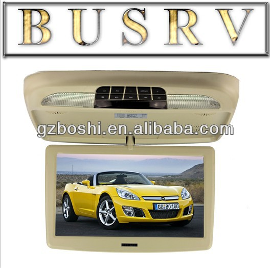 2013 New Hot Model 10 Inch Super Slim roof car dvd player