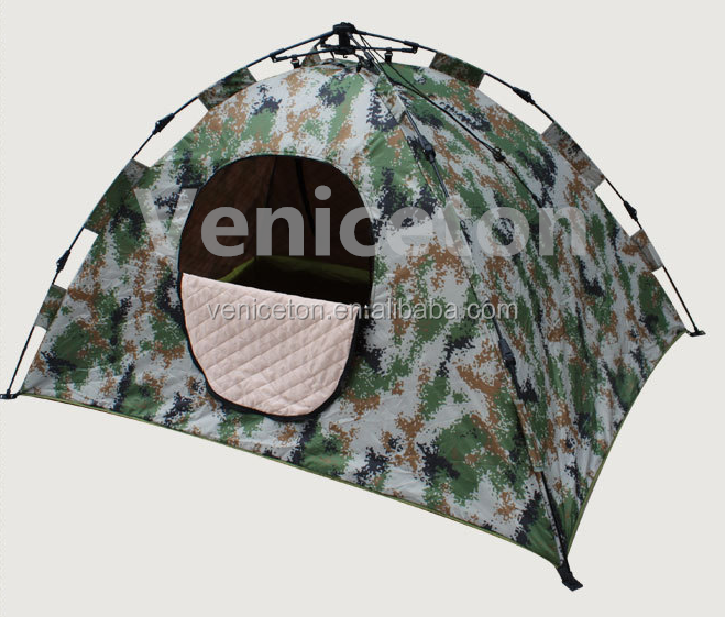 Customized Fiberglass Double Automatic Cotton Tent, Camping Tents