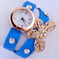 Top sell hottest decoration vintage watch for women,lady vogue watch gift
