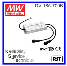 LDV-185-700B 185W 40V 700mA Multiple Channel Output made in Taiwan Meanwell Switching Power supply