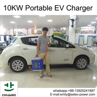 10KW EV charger station with CHAdeMo connector