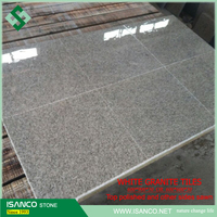natural white Granite G303 cheap granite floor paving tiles cut-to-size calibrated top quality best sales