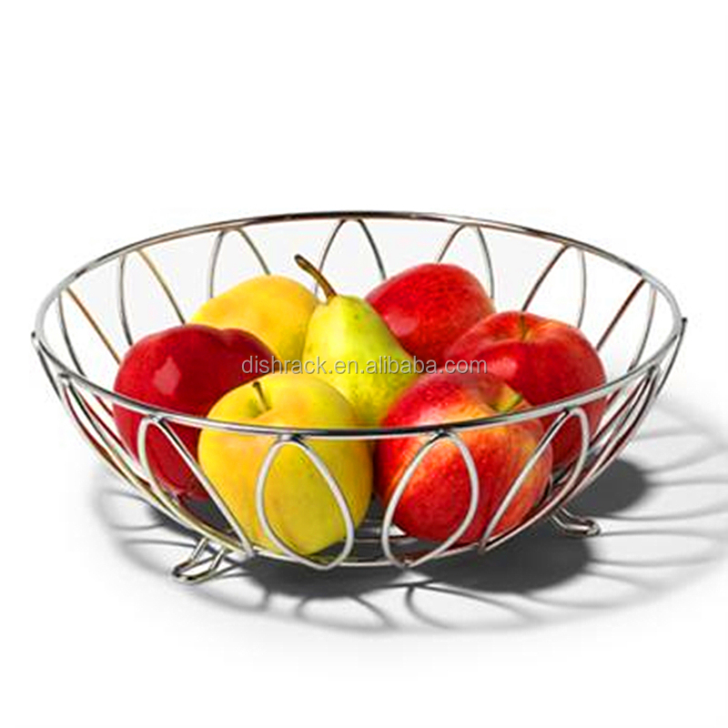 High Quality New Product Fruit Bowl Decorative Stainless Steel