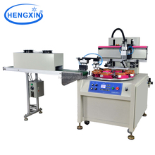 Membrane switch semi auto screen printing press