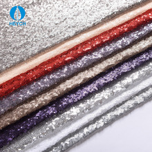 H3012 Wholesale China Supply 3mm Embroidered Sequin Fabric
