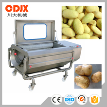 Factory Directly Selling New Arrival Curly Potato Peeling Machine