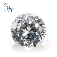 Shining Round shape 15mm 20mm 30mm 100mm White Large Big Cubic Zirconia