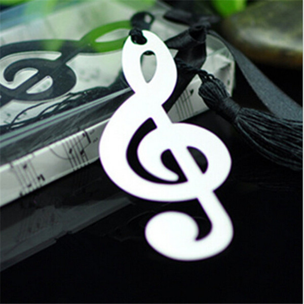 Yiwu Aceon Stainless Steel high polished 70mm Music Note Bookmark