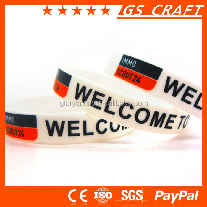 Fittness design where to buy rubber band bracelets with a great price