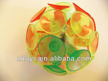 suction ball Flashing Sticky Ball hot sales led suction ball