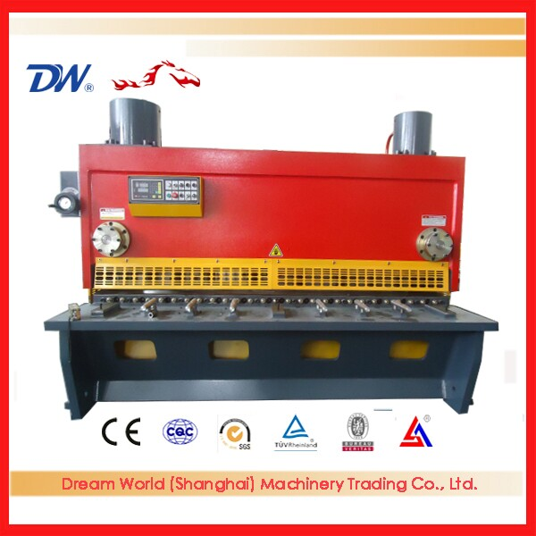 Alibaba top manufacturers plate Guillotine Shearing Machine , cnc shearing machine for sale