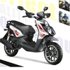 125cc Automatic Transmission Scooter CVT engine GY6 Engine Motorcycle Motorbike Chinese for sale Glass 125